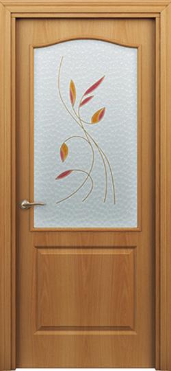 Дверь палитра  миланский орех ДО