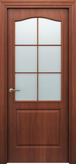 Дверь палитра  итальянский орех ДО