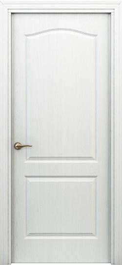 Дверь палитра  белая ДГ