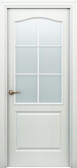 Дверь палитра  белая ДО